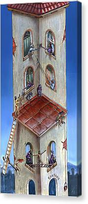 Building Santana Canvas Print by Joe Santana