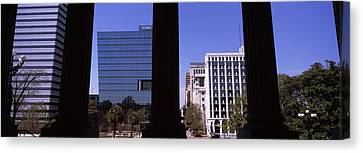 Buildings Viewed From South Carolina Canvas Print