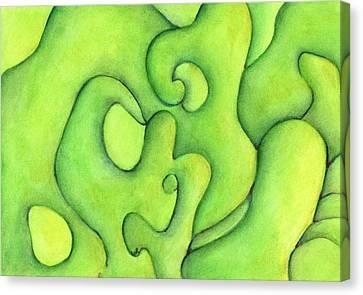 Bulbs Flowing  Canvas Print