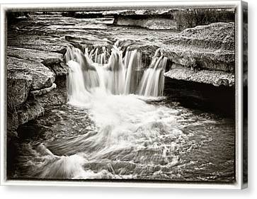 Bull Creek Water Run Canvas Print