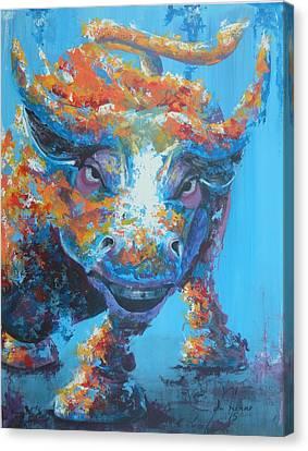 Bull Market C1 Canvas Print by John Henne