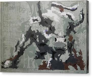 Bull Market G Canvas Print by John Henne