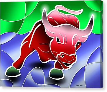 Bull Market Canvas Print by Stephen Younts
