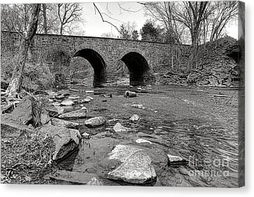 Bull Run Bridge Canvas Print by Olivier Le Queinec