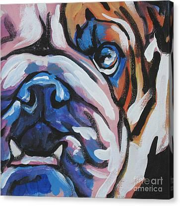 Bulldog Baby Canvas Print