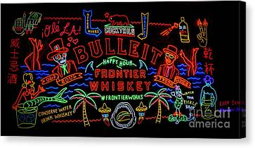 Bulleit Frontier Whiskey Canvas Print