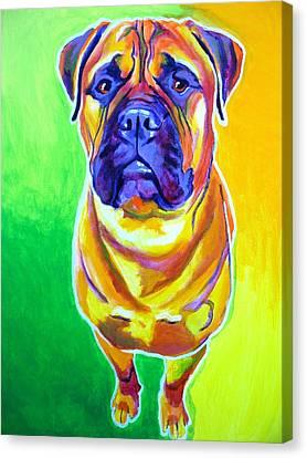 Bullmastiff - Maverick Canvas Print by Alicia VanNoy Call