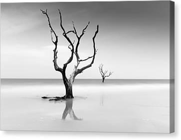 Boneyard Beach Xv Canvas Print by Ivo Kerssemakers