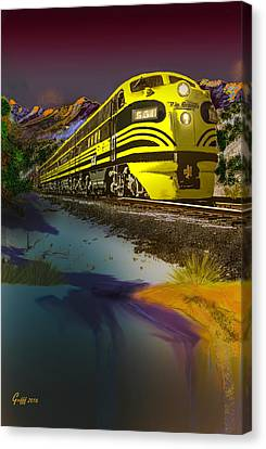 Bumble Bee F Unit Zephyr Canvas Print