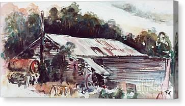 Buninyong Dairy Canvas Print