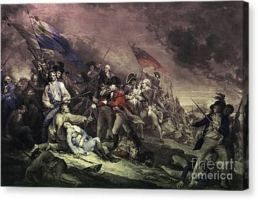 Bunker Hill Canvas Print by Omikron