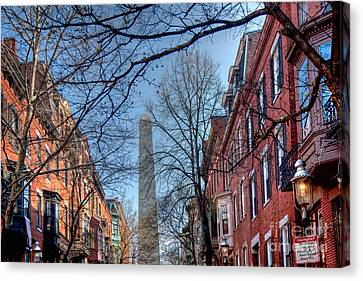 Bunker Hill Canvas Print by Susan Cole Kelly