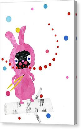 Bunny Canvas Print by Anne Vasko