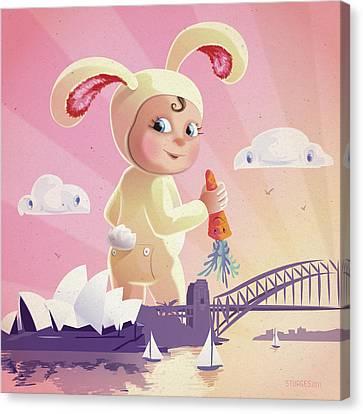 Bunny Mae Canvas Print