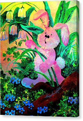 Bunny Surprise Canvas Print