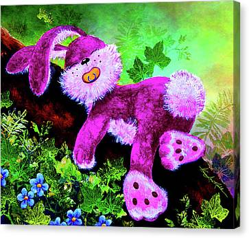 Bunny Zzzzs Canvas Print