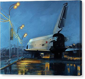 Buran Canvas Print by Simon Kregar