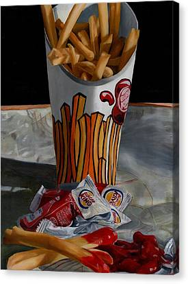 Burger King Value Meal No. 5 Canvas Print by Thomas Weeks