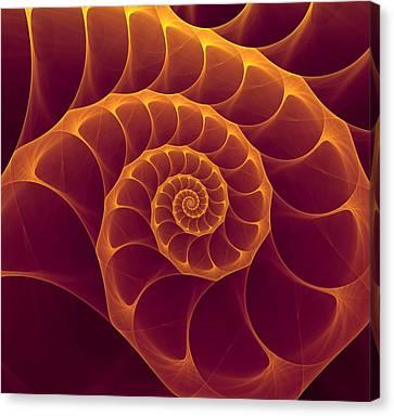 Infinity Canvas Print by Anna Bliokh