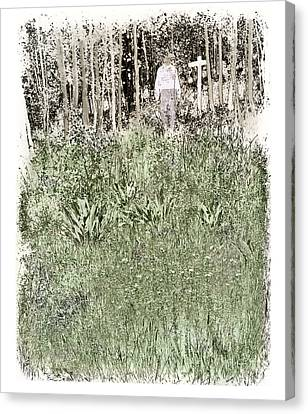 Burial Ground Canvas Print by Madeline Ellis
