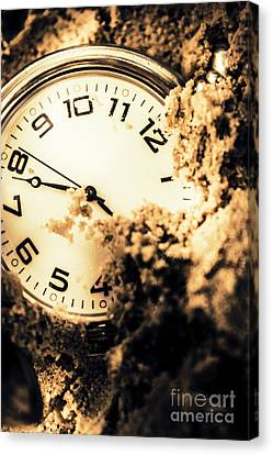 Buried By The Hands Of Time Canvas Print by Jorgo Photography - Wall Art Gallery