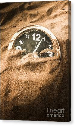 Buried In The Sands Of Time Canvas Print by Jorgo Photography - Wall Art Gallery