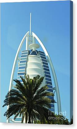 Burj Al Arab Canvas Print by Hanza Turgul