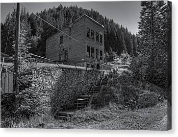 Burke Idaho Mining Ghost Town Canvas Print