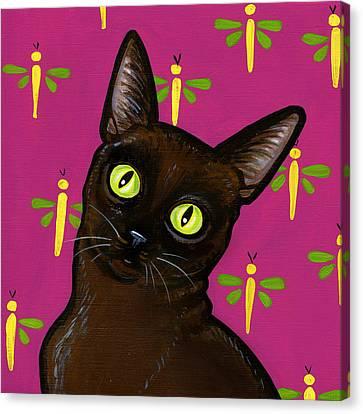 Burmese Best Canvas Print by Leanne Wilkes