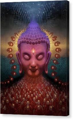 Burmese Step Canvas Print
