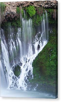 Burney Falls Canvas Print by Eric Foltz
