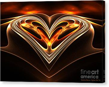 Burning Desire Canvas Print