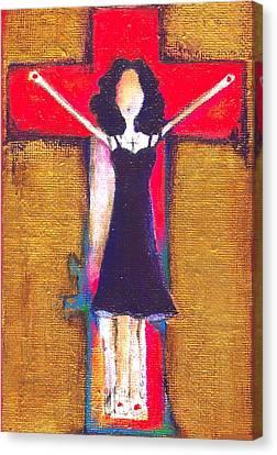 Burning Prayers Canvas Print by Ricky Sencion
