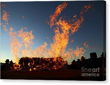 Burnt Offerings Canvas Print