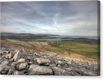 Burren Scenery  Canvas Print by John Quinn