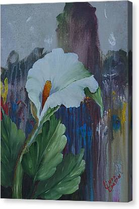 Burst Of Color Canvas Print by Linda Larson