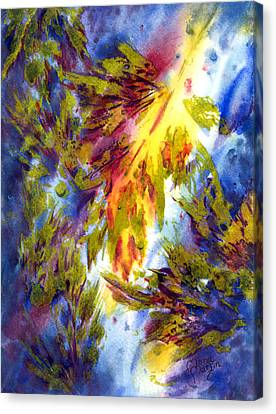 Burst Of Fall Canvas Print