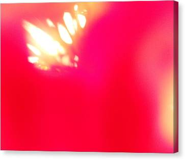 Canvas Print featuring the photograph Burst Of Light by Alexandra Masson