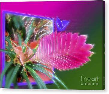 Bursting Forth In Bloom Canvas Print