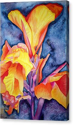 Bursting Forth Canvas Print by Margaret Elizabeth Johnston ND