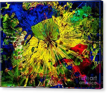 Bursting Out... Canvas Print by Jolanta Anna Karolska