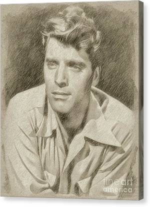 Burt Lancaster Hollywood Actor Canvas Print by Frank Falcon