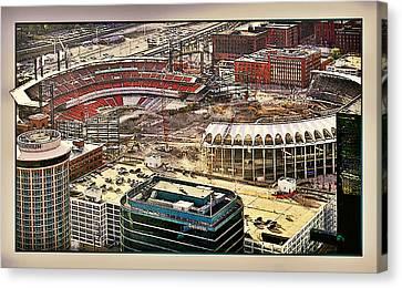 Busch Stadia Canvas Print