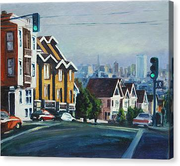 Bush Street Canvas Print