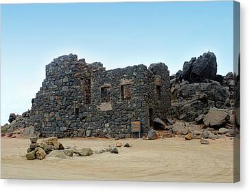 Bushiribana Gold Mill Ruins Of Aruba Canvas Print