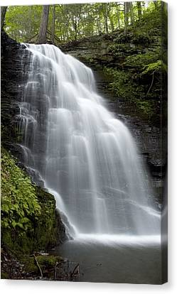 Bushkill Falls - Daughter Fall Canvas Print