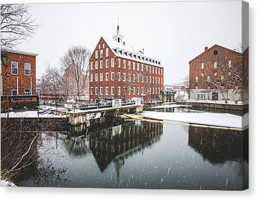 Canvas Print featuring the photograph Busiel-seeburg Mill by Robert Clifford