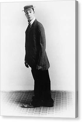 Buster Keaton, Ca. Late 1910s Canvas Print by Everett