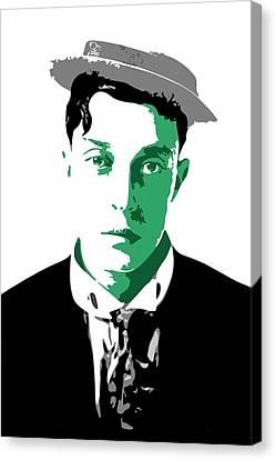 Buster Keaton Canvas Print by DB Artist