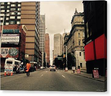 Busy Canvas Print by 2141 Photography